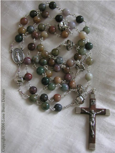 Quartz Sterling Rosary