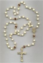 Riverstone Rosaries and Rosary Bracelet